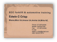 ECC Forklift & Automotive Training
